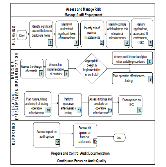 Typical Flow of Audit for IFCoFR
